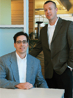 Mark Hansen and Corey Chamberlain co-founders of 3D Die Design and T-SIM Solutions